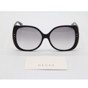 New SUNGLASSES GUCCI GG0472SA 001 Black Eyewear